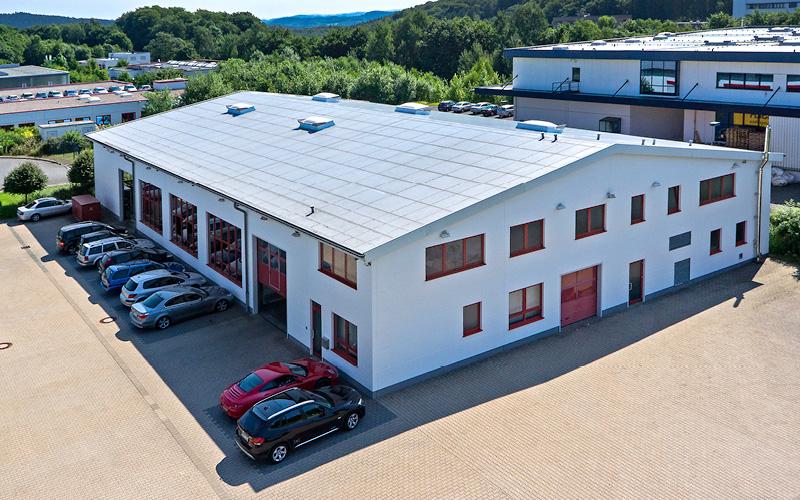 HPL Pielhau Fabrikhalle